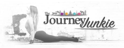 The Journey Junkie Woman doing Yoga